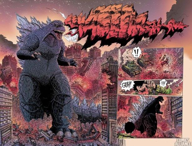 James Stokoe's Godzilla